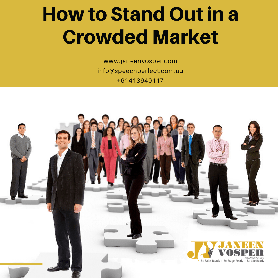 How to stand out in a crowded market