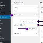 How to Add a Link to an External Site to a WordPress Menu