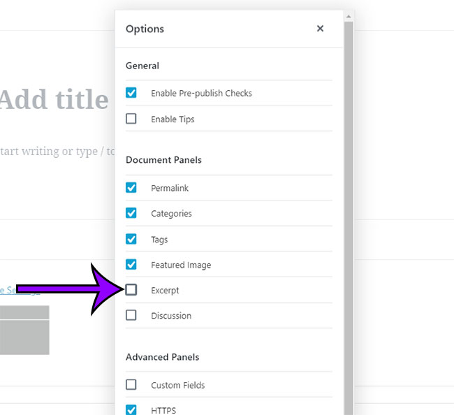 how to customize the right column in the wordpress post editor