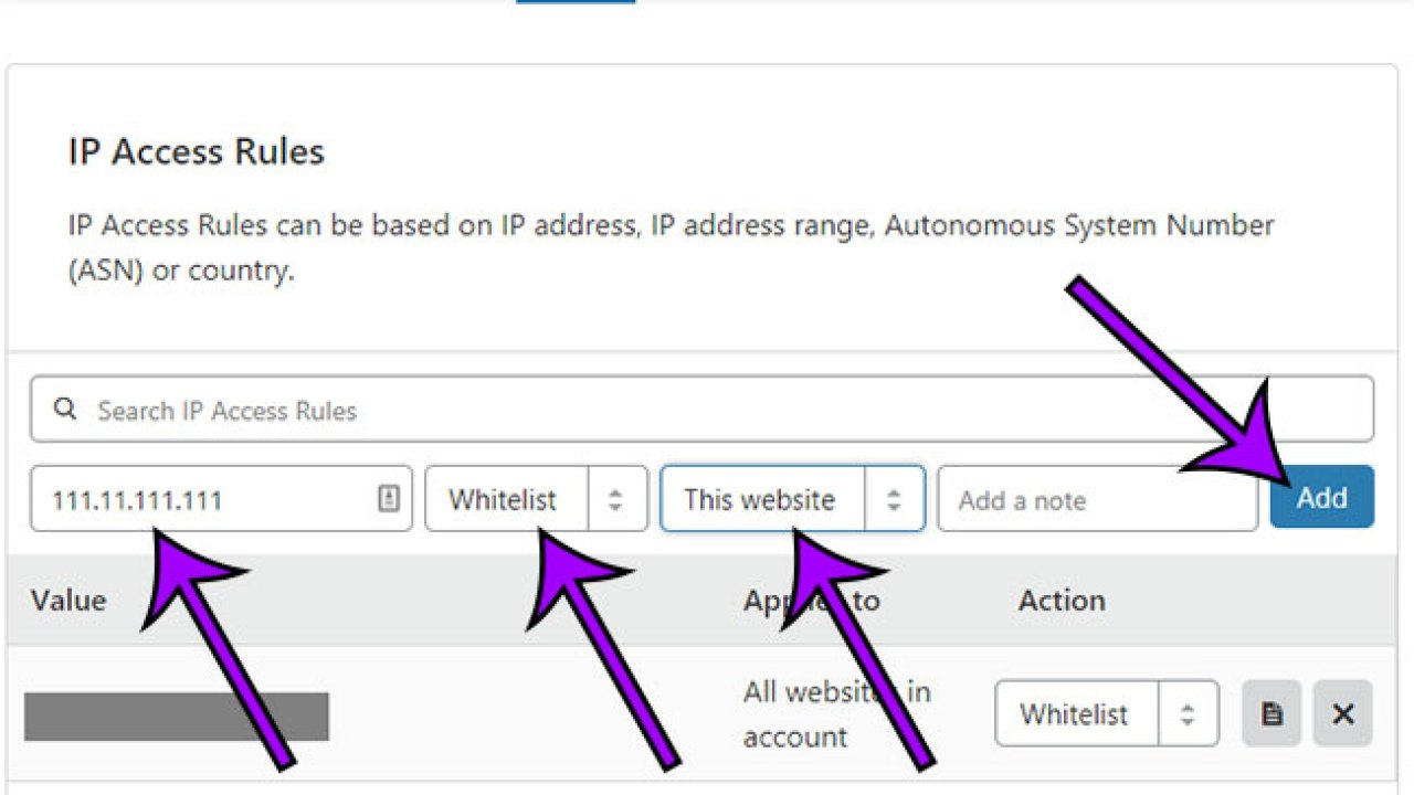How to Whitelist an IP Address in Cloudflare - Answer Your Tech