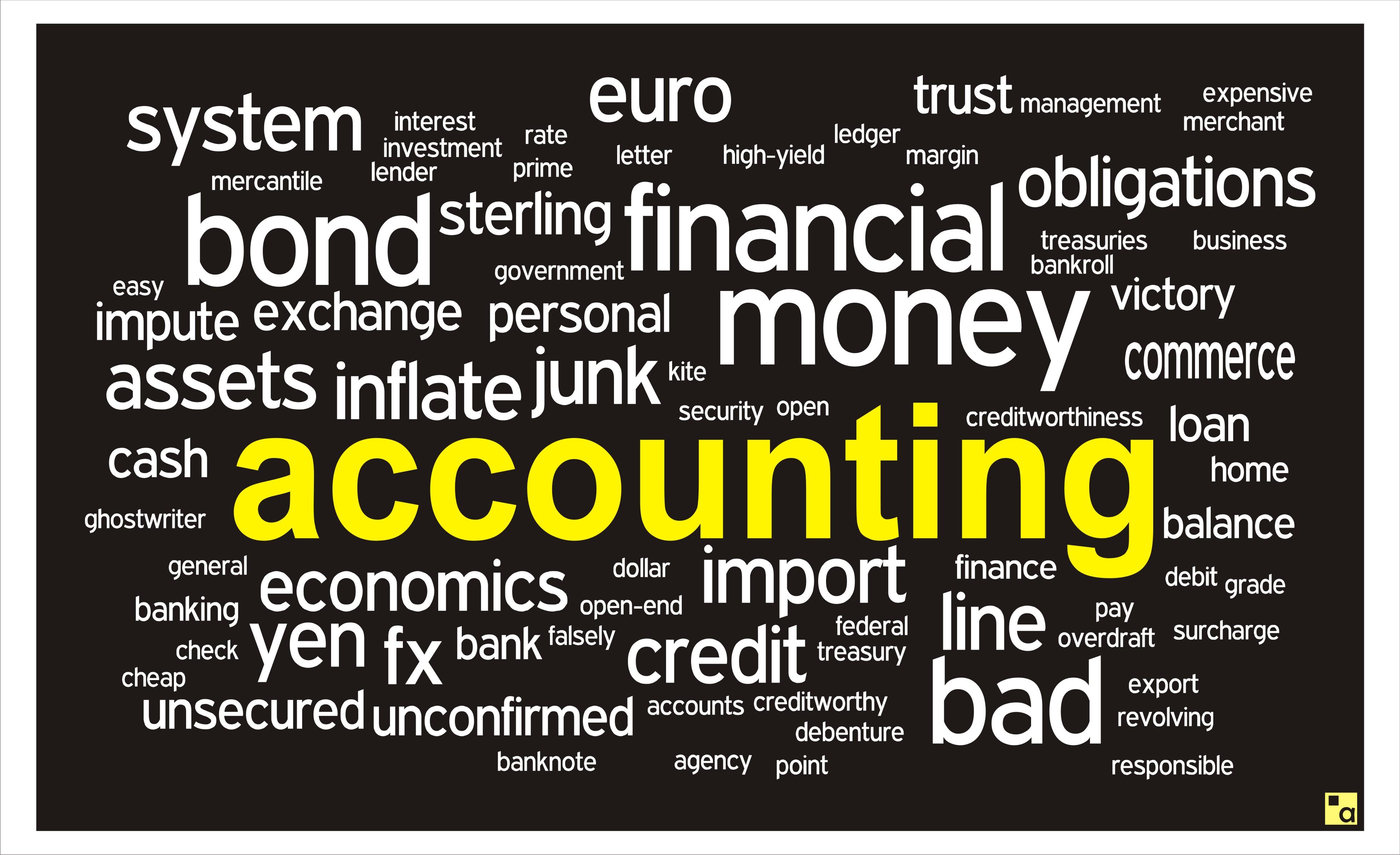 Accounting Word Cloud Ansyel