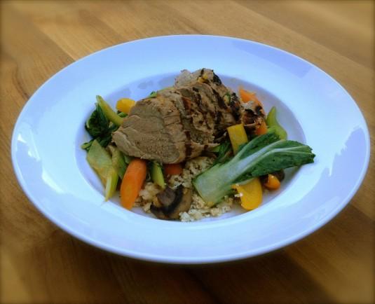 paleo diet challenge day 28 cauliflower rice