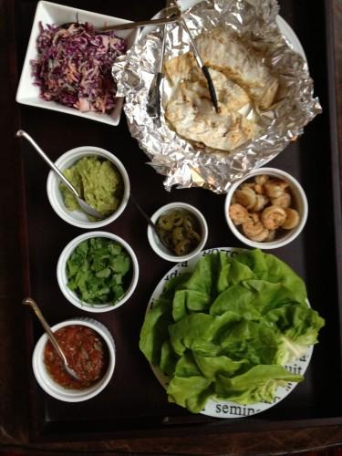paleo diet challenge day 5 seafood tacos