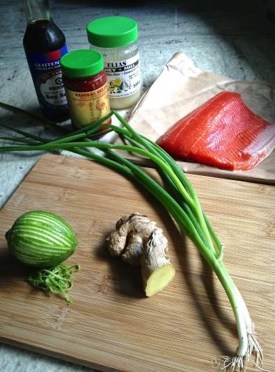 ginger lime glaze roasted salmon ingredients