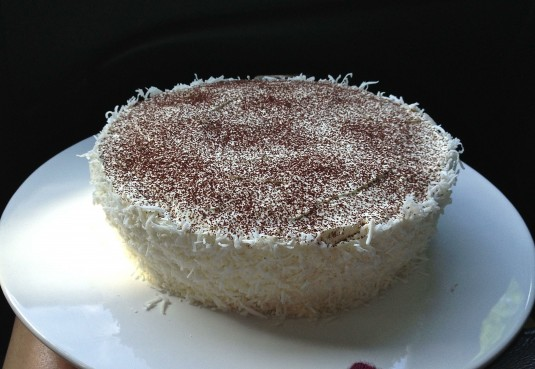 quinoa chocolate cake coconut buttercream