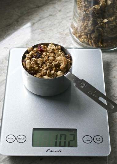 gluten free granola 1 measuring cup