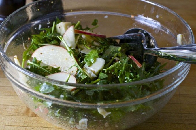 apple cheddar arugula salad final
