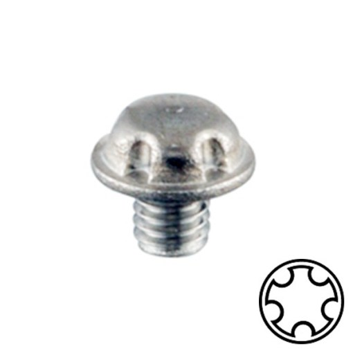 System 5 Machine Screw Stainless A2 M2.5x3
