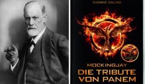 Sigmund Freud und Cover Mockingjay