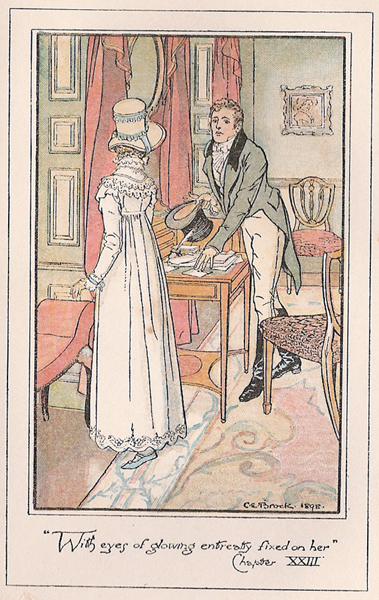 Persuasion Jane Austen Illustration