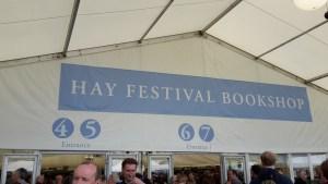 Hay Festival Book Shop