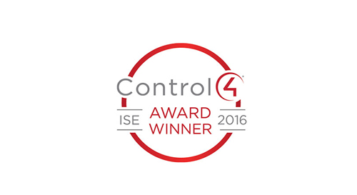 "Audiotek SARL awarded as Control4 ""Dealer of the year – EMEA""."