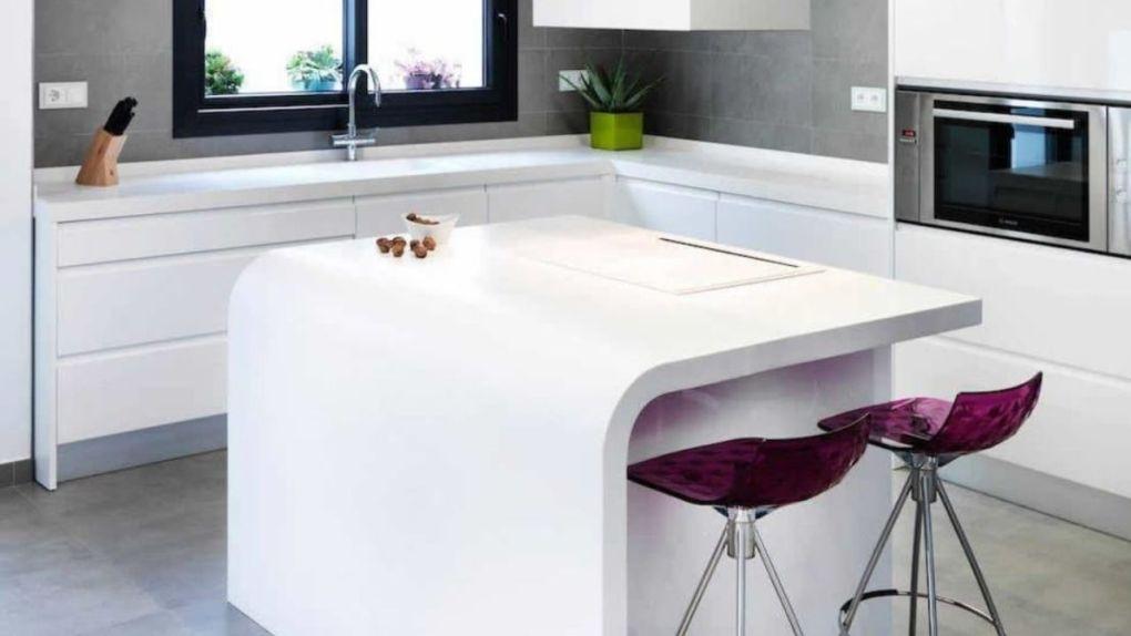 Corian Modern Mutfak Tezgahı