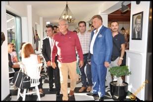 Talya Cafe Bistro- Nuri Alço, Fidan İlteray, Antalya TV, Muhabir Rüya Kürümoğlu (174)
