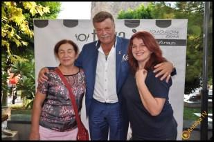 Talya Cafe Bistro- Nuri Alço, Fidan İlteray, Antalya TV, Muhabir Rüya Kürümoğlu (206)