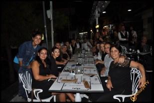 Talya Cafe Bistro- Nuri Alço, Fidan İlteray, Antalya TV, Muhabir Rüya Kürümoğlu (237)