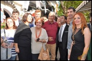 Talya Cafe Bistro- Nuri Alço, Fidan İlteray, Antalya TV, Muhabir Rüya Kürümoğlu (71)