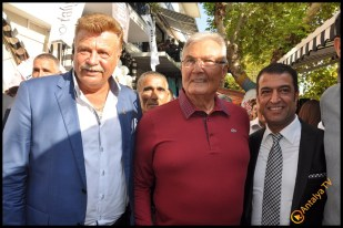 Talya Cafe Bistro- Nuri Alço, Fidan İlteray, Antalya TV, Muhabir Rüya Kürümoğlu (75)