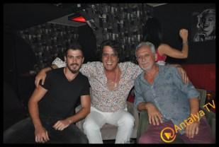 Showmen Murat Sarıgöz Şamata Live- Antalya Solist Ali Yüksel- Gazeteci Abdullah Özçelik
