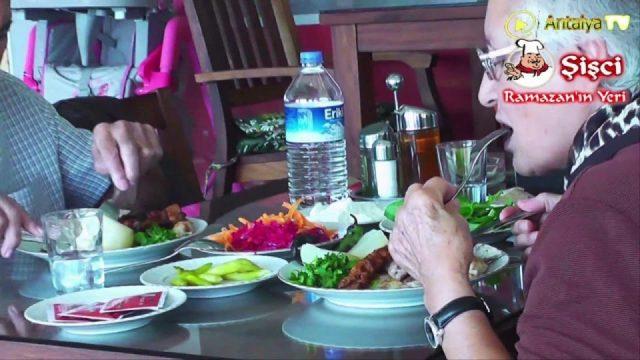 Şişçi Ramazan Antalya Restaurant Şiş Köfte Piyaz Kabak Tatlısı Antalya Restaurantlar