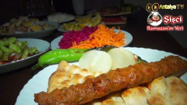 Antalya Şişçi Ramazanın Yeri -sisci ramazan -restaurant şiş köfte piyaz kabak tatlısı (27)