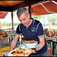 The Lara Landscape Cafe- Sadettin Ersoy- Antalya TV- Muhabir Rüya Kürümoğlu (123)