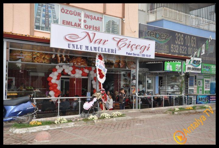 Nar Çiçeği Unlu Mamülleri Kepez'de Açıldı.. (198)