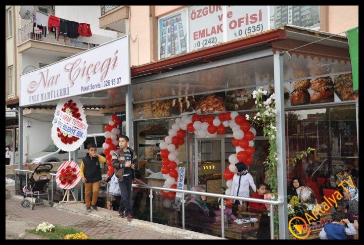 Nar Çiçeği Unlu Mamülleri Kepez'de Açıldı.. (204)