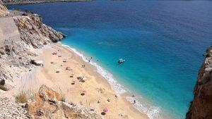 Kaputaş Plajı Kaş - Kalkan Gezilecek Yerleri