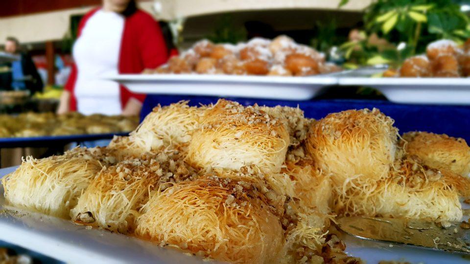 Kadayıf Tatlısı – Antalya Açıkbüfe Kahvaltı – Denizimpark Restaurant