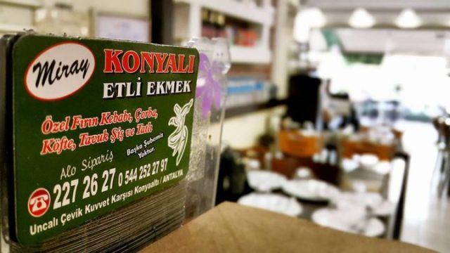 Uncalı Yemek Sipariş 0242 227 2627 -  Miray Konyalı Etli Ekmek Antalya Etli Ekmek Paket Servis