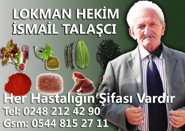 Lokman Hekim İsmail Talaşçı - 0544 8152711