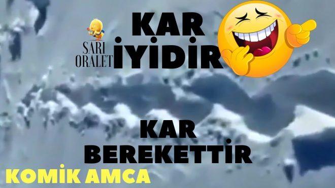 KAR iyidir KAR Berekettir , Gitsin İstanbul ve Antalyada Tatil Etsin Kendine... ( KARLOVALI AMCA )