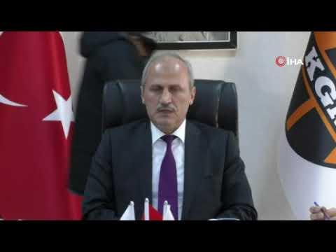 Bakan Turhan'dan Antalya İzmir arası hızlı tren ve otoyol müjdesi
