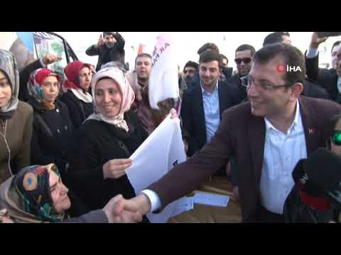 Vatandaştan İmamoğlu'na 'AK Partiye gelin' daveti