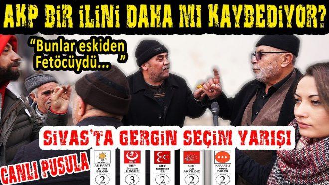 Sivas'ta Gergin Seçim Yarışı. AKP Bir İlini Daha Mı Kaybediyor? 2019 Sivas Yerel Seçim Anketi