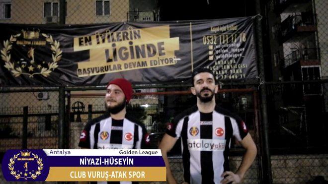 Antalya/Premier League/Club Vuruş-Atak Spor/Niyazi-Hüseyin/Maç Sonu Görüşleri