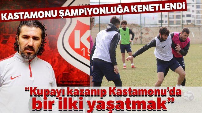 Lider Kastamonuspor, Sahasında Sakaryaspor'u Ağırlayacak