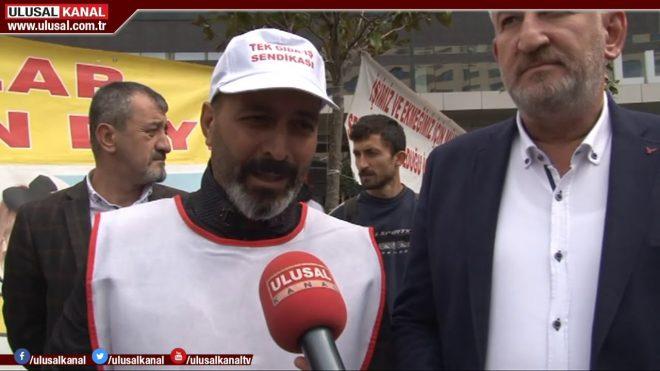 Cargill işçilerinin hak mücadelesi 1 yılı geride bıraktı