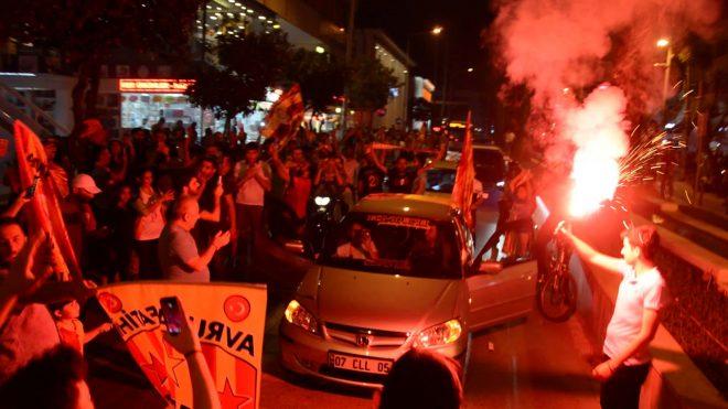 Galatasaray Şampiyonluk Kutlaması / Antalya
