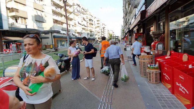 Antalya Şarampol Caddesi Kapalı Yol Markantalya İstikameti – Gezi Tatil – 3/7
