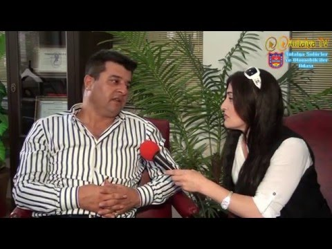 Antalya Şoförler Odası Başkanı Mehmet Ali Alkan