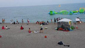 Antalya Denizi Konyaaltı Plajı Deniz Manzarası Antalya Gezilecek Yerleri Tatil