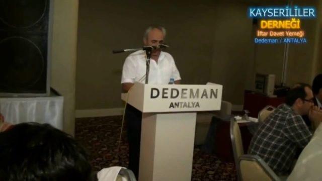 Kayserililer Derneği İftar Yemeği Dedeman Antalya 2012
