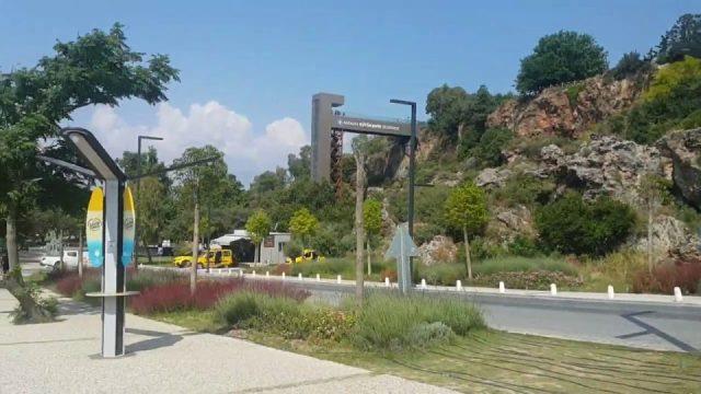 Varyanttan Beach Park'a Yürüyüş - Antalya Gezi Tatil - 11/16