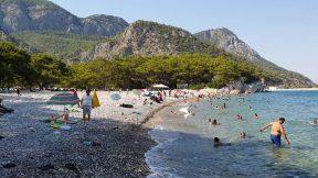 Küçük Çaltıcak Plajı Yürüyüş - Antalya Piknik Alanları Gezi Tatil - 7/7