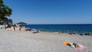 Çaltıcak Sahili Deniz Manzarası Geniş Açı - Antalya Piknik Mangal Yerleri Gezi Tatil