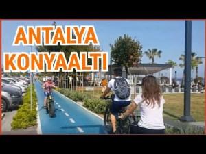 Konyaaltı Kent Meydanı Bisiklet Yolu - Huzurun Başkenti Antalya