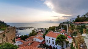 Antalya Cumhuriyet Meydanı Deniz Manzarası