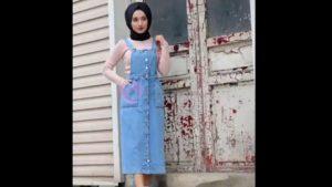 Tesettür giyim 2019 Kadın Moda Bayan Kapalı Giysiler Tesettürlü Tunik Etek Abiye Kıyafet Elbiseler